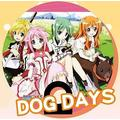 Paper fan - DOG DAYS