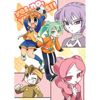Doujinshi - Inazuma Eleven GO / Tenma & Endou & Alpha & All Characters (yes,no,YES,YES!!) / Tobiiro Cat