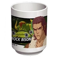 Japanese Tea Cup - TIGER & BUNNY / Rock Bison