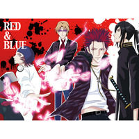 Doujinshi - K (K Project) / All Characters (K) (RED & BLUE)
