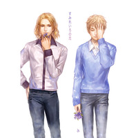 Doujinshi - Hetalia / France x United Kingdom (すみれいろの恋) / Lotus*