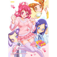 Doujinshi - HeartCatch PreCure! / Erika & Mana & Makoto & All Characters (ハートがドキドキ) / Anzu Syrup