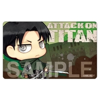 Card Stickers - Shingeki no Kyojin / Levi & Akashi