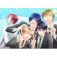 Doujinshi - Free! (Iwatobi Swim Club) / All Characters x Haruka (Attention Free!) / Sanshoku Sabou.