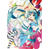 Doujinshi - Illustration book - VOCALOID / Miku & Luka & All Characters (assort) / moni