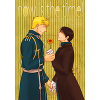 Doujinshi - Fullmetal Alchemist / Jean Havoc x Roy Mustang (now is the time!) / M,DRUG. moca。