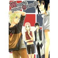 Doujinshi - NARUTO / Sasuke & Naruto & Sakura & Sai (What's your game?) / きゅうりん堂