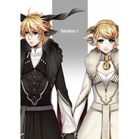 Doujinshi - Illustration book - VOCALOID / Rin & Len (Colorful 3) / Room343