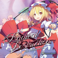 Doujin Music - Radical Destruction the instrumental / Amateras Records