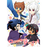 Doujinshi - Anthology - Inazuma Eleven GO / Hakuryuu & Shuu & Kyousuke & Tenma (Quartet Party!) / Tobiiro Cat