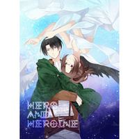 Doujinshi - Shingeki no Kyojin / Levi x Hanji (HERO AND HEROINE) / 氷室シア
