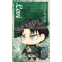Card Stickers - Shingeki no Kyojin / Levi