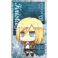 Card Stickers - Shingeki no Kyojin / Krista Lenz