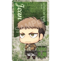 Card Stickers - Shingeki no Kyojin / Jean Kirschtein