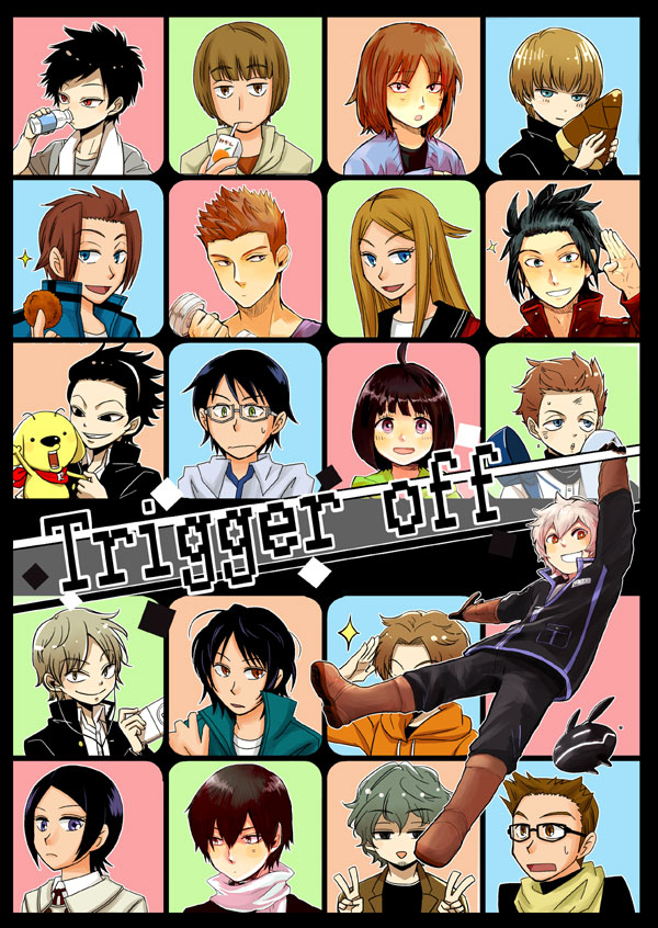 Trigger Anime Characters : Used doujinshi anthology world trigger all