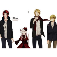 Doujinshi - K (K Project) / Mikoto x Anna (Bless) / 采華
