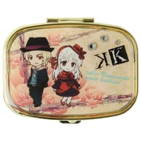 Mirror - Pill Case - K (K Project) / Anna & Kamamoto Rikio
