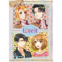 Doujinshi - Anthology - Shingeki no Kyojin / Levi x Petra (Love it) / Poppen Network