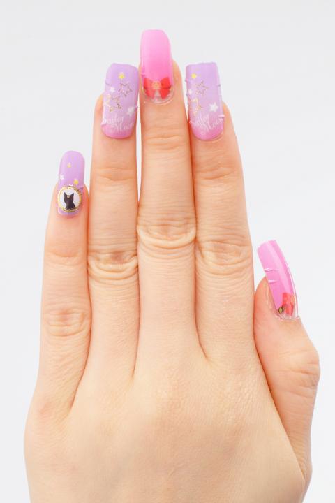 sailor moon nail stickers