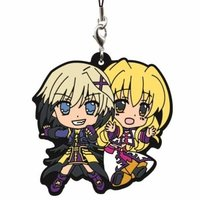 Rubber Strap - Magical Girl Lyrical Nanoha / Dearche & Yuri Eberwein