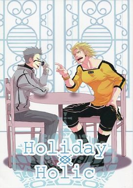 Doujinshi - TIGER & BUNNY / Ryan Goldsmith & Robin Baxter (Holiday Holic) / 落下散