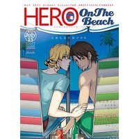 [Boys Love (Yaoi) : R18] Doujinshi - TIGER & BUNNY / Mob Character x Origami Cyclone & Barnaby x Kotetsu (HERO On The Beach) / アサルトマシンガン