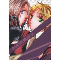 [Boys Love (Yaoi) : R18] Doujinshi - Novel - Hetalia / France x United Kingdom (EST‐CE QUE JE PEUX EMBRASSER?) / tool.s./あしたの風/アントルメ