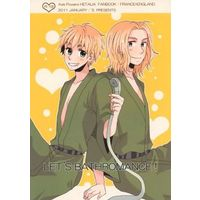 [Boys Love (Yaoi) : R18] Doujinshi - Hetalia / France x United Kingdom (LET'S BATHROMANCE!) / 'S