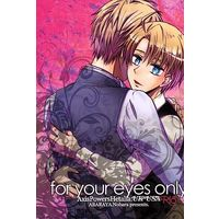 [Boys Love (Yaoi) : R18] Doujinshi - Hetalia / United Kingdom x America (for your eyes only) / Abaraya