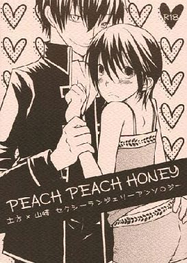[Boys Love (Yaoi) : R18] Doujinshi - Novel - Gintama / Hijikata Toushirou x Yamazaki Sagaru (PEACH PEACH HONEY) / 破廉恥退同盟セクシーランジェリー部