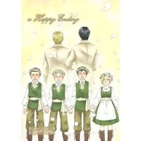 [Boys Love (Yaoi) : R18] Doujinshi - Shingeki no Kyojin / Reiner x Bertolt (a Happy Ending) / Evergreen