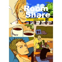 [Boys Love (Yaoi) : R18] Doujinshi - ONE PIECE / Zoro x Sanji (Room Share) / ANOBATA