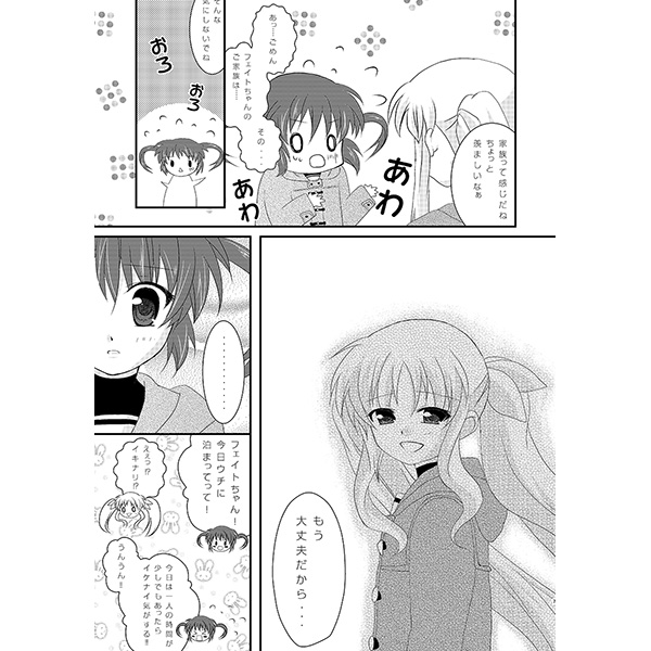 doujinshi   magical girl lyrical nanoha alicia