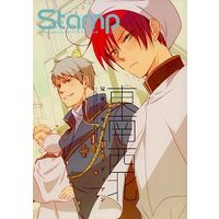 Doujinshi - Hetalia / Germany x Italy & Prussia x Southern Italy (Stamp vol.23 東南西北 兄弟の巫女とガーディアン) / Receipt