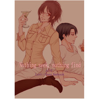 Doujinshi - Novel - Shingeki no Kyojin / Levi x Hanji (Nothing seek, nothing find) / のりしろ