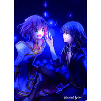 Doujinshi - Novel - Tales of Vesperia / Yuri x Estellise (花が散る頃、君に恋をする) / Alt