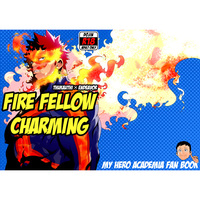 [Boys Love (Yaoi) : R18] Doujinshi - My Hero Academia / Tsukauchi Naomasa & Endeavor (FIRE FELLOW CHARMING) / まらぱるて