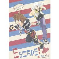 Doujinshi - KINGDOM HEARTS / Sora & Riku (Escape!) / Ssize