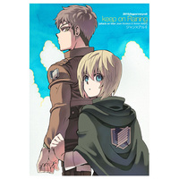 Doujinshi - Shingeki no Kyojin / Jean x Armin (keep on Raining) / fagus