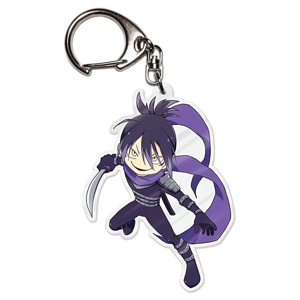 Key Chain - One-Punch Man / Onsoku no Sonic