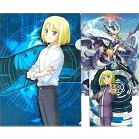 Plastic Folder - Cardfight!! Vanguard G / Kiba Shion