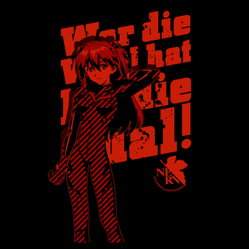 T-shirts - Evangelion / Asuka Langley Size-S