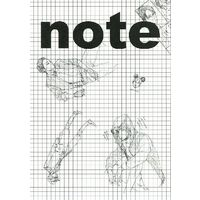 Doujinshi - Illustration book - 【無料配布】note / 青空軍団 (Aozora Gundan)