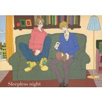 Doujinshi - Hetalia / America x United Kingdom (Sleepless night) / Datte