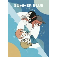 Doujinshi - Love Live / Maki & Rin & Hanayo & Nico (SUMMER BLUE) / CURL UP
