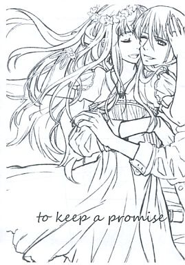 Doujinshi - Macross Frontier / Alto x Sheryl (【無料配布本】to keep a promise) / mixed breed