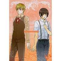 [Boys Love (Yaoi) : R18] Doujinshi - Hetalia / Japan x United Kingdom (Aggravate the timid.) / レンアイ