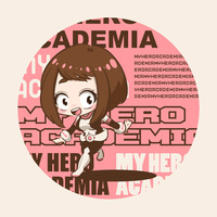 Badge - My Hero Academia / Uraraka Ochako