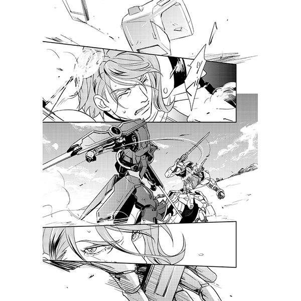 [Boys Love (Yaoi) : R18] Doujinshi - IRON-BLOODED ORPHANS / Gaelio Bauduin x McGillis Fareed (WHY ARE YOU CRYING) / 十科