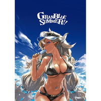 Doujinshi - Illustration book - Danganronpa / Ranko & Enoshima & Cagliostro & Ferry (GRANBLUE SUMMER!!) / redjuicegraphics
